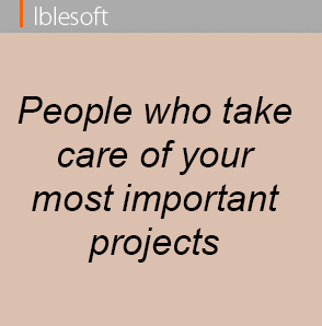 peoples who take care of your most important projects